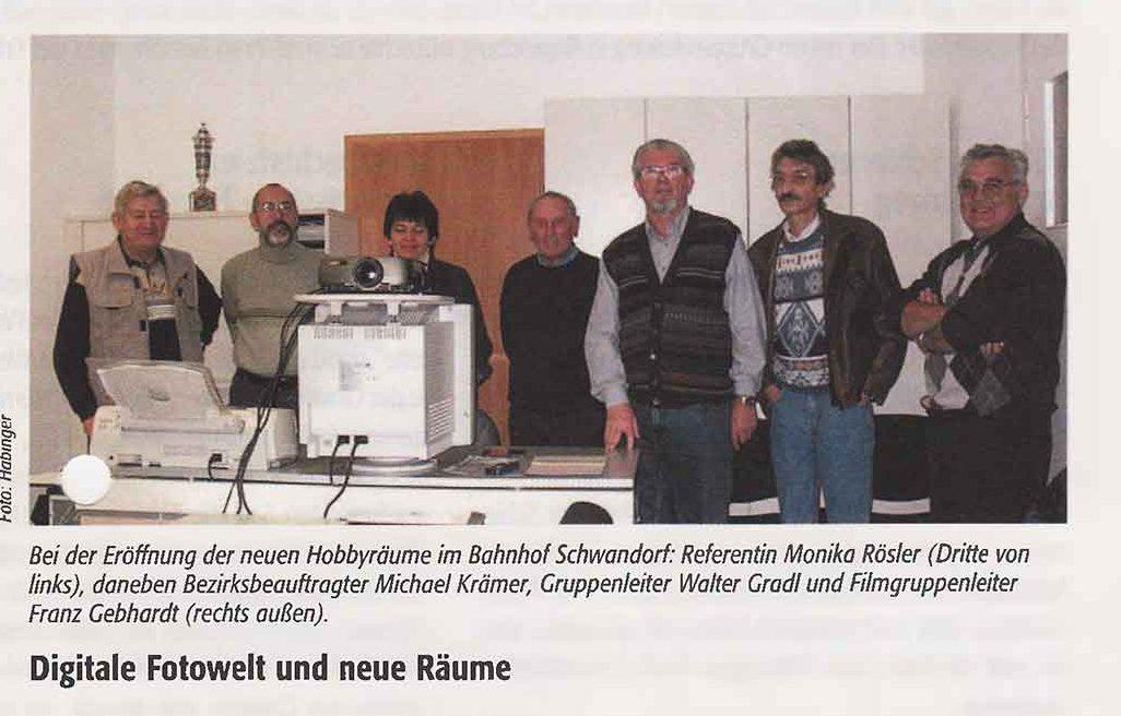 Digitale Fotowelt und neue Räume in Schwandorf