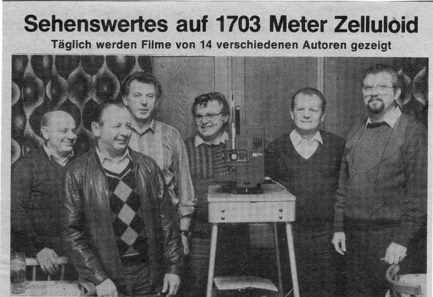 Schmalfilmwettbewerb – sehenswertes auf 1703 Meter Zelluloid