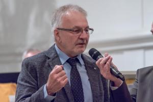 Robert Kernl bei Ansprache