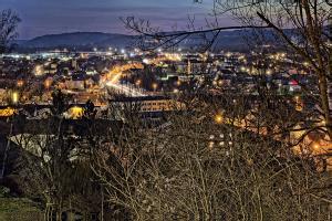 Schwandorf bei Nacht