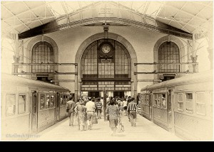 Bahnhofshalle PORTUGAL