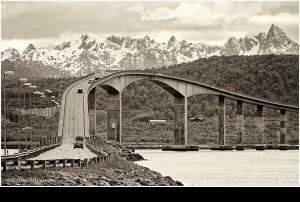 Hochbrücke NORWEGEN