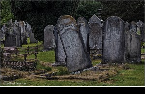 am Friedhof IRLAND