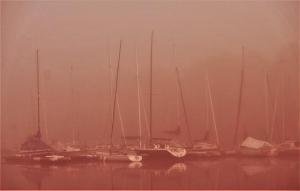 Boote im Nebel 2